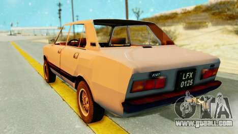 Fiat 132 for GTA San Andreas left view