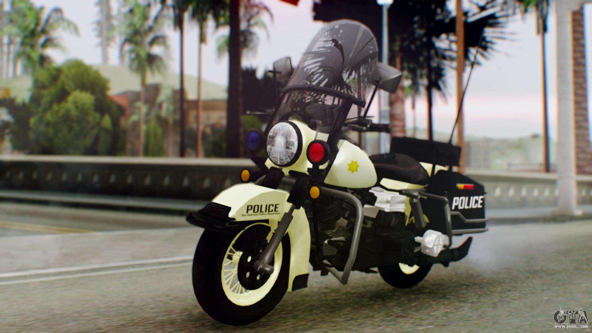 New Police Bike for GTA San Andreas