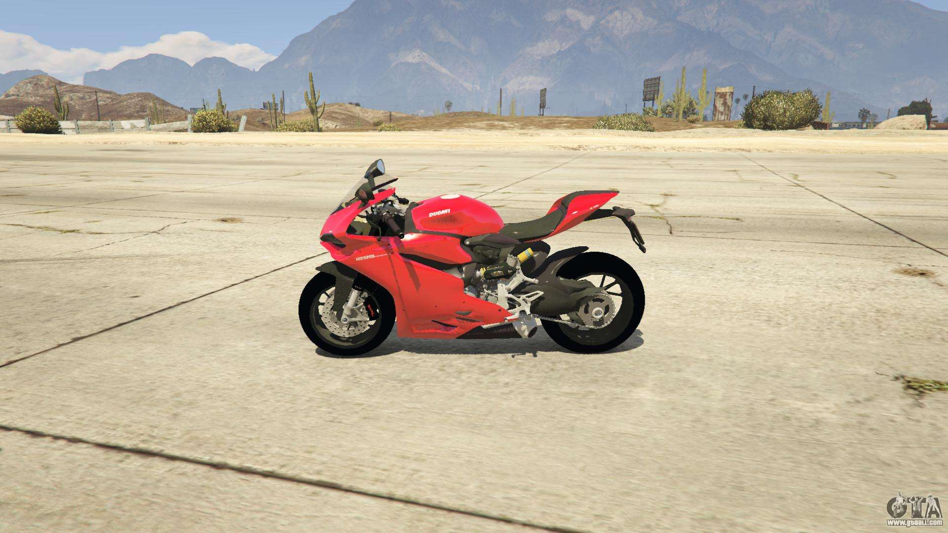 Ducati 1299 Panigale S v1 1 for GTA 5