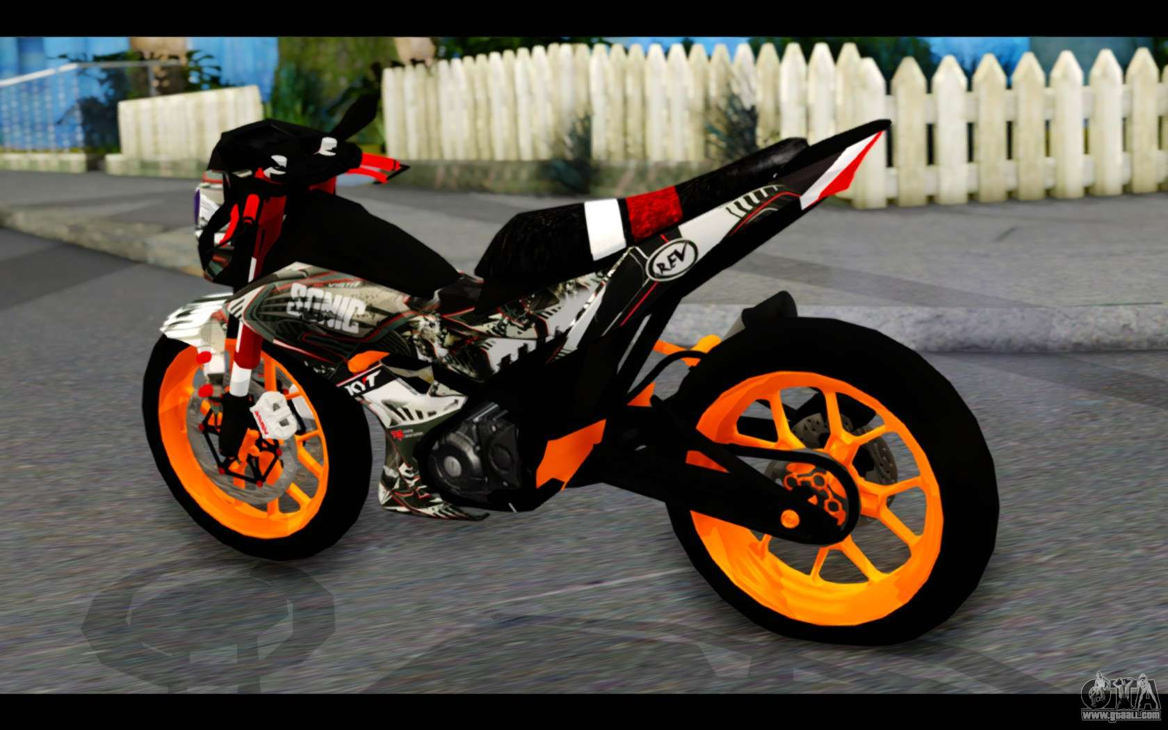Honda Sonic 150r Custom For Gta San Andreas