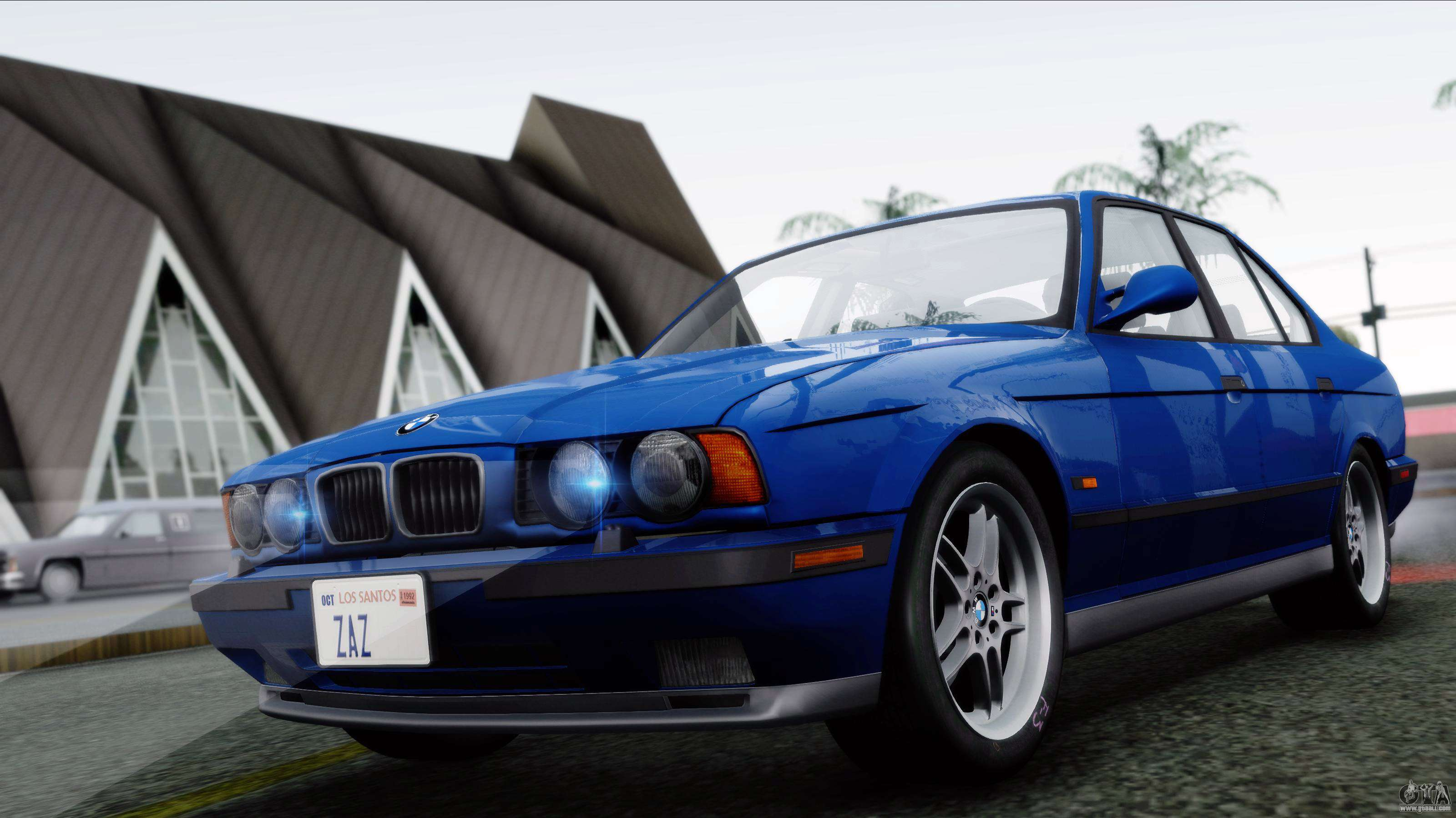 bmw m5 e34 us spec 1994 full tunable for gta san andreas. Black Bedroom Furniture Sets. Home Design Ideas