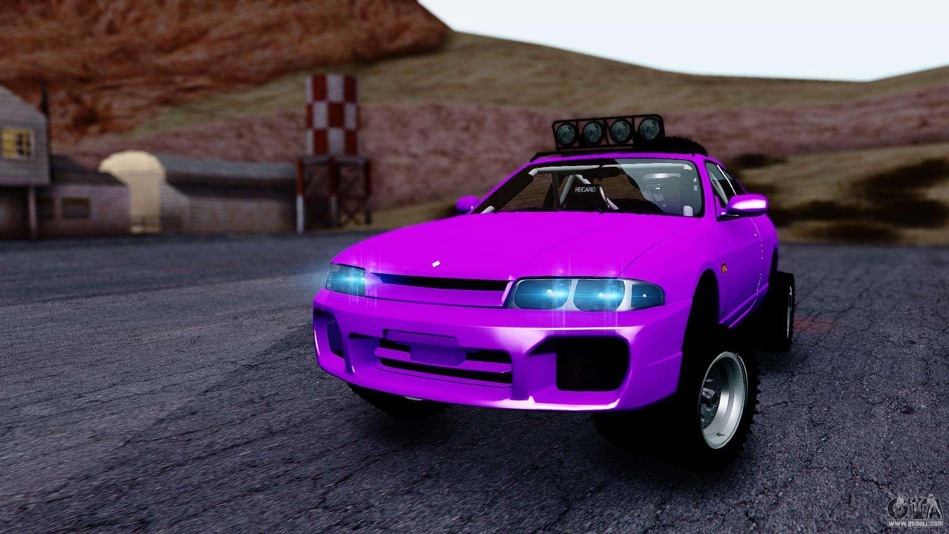 Gta 5 Custom Cars >> Nissan Skyline R33 Rusty Rebel for GTA San Andreas