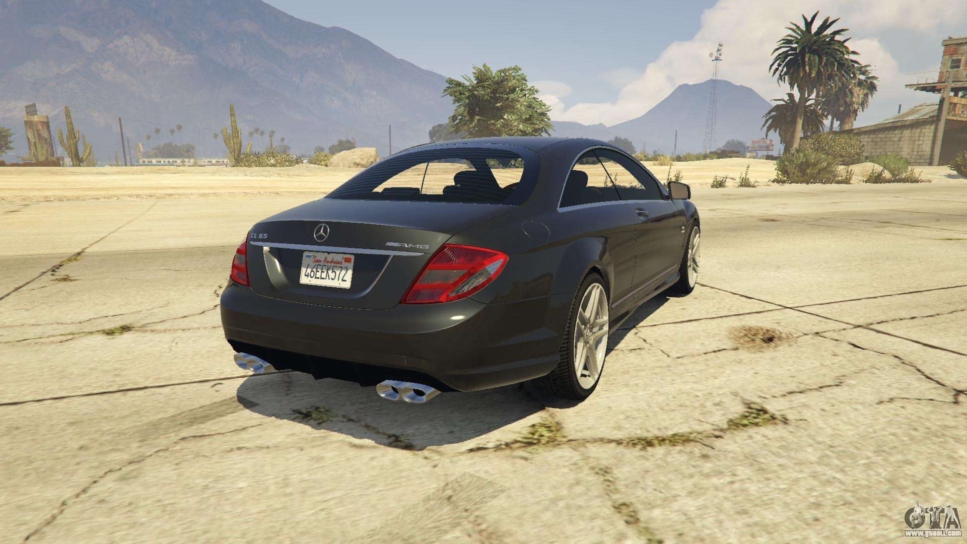 2010 Cl65 Mercedes Benz Amg For Gta 5