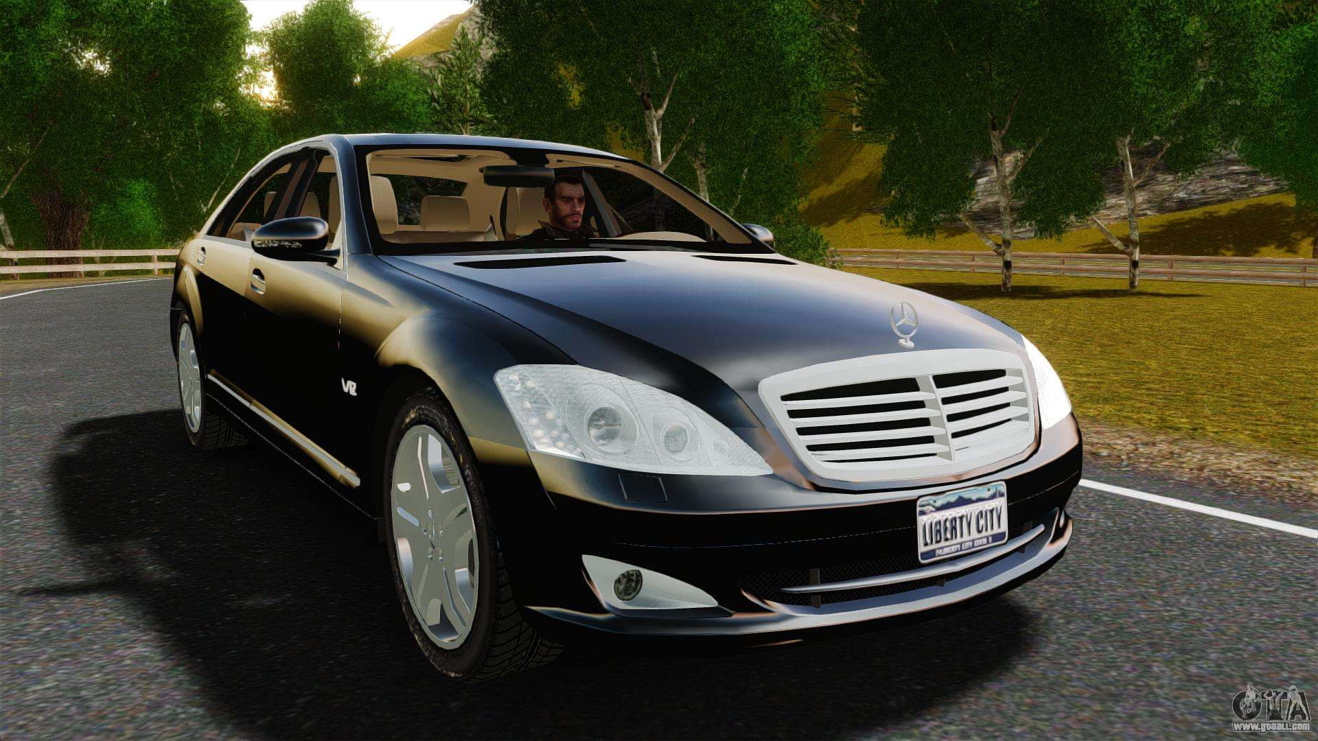 mercedes benz s600l 2008 for gta 4