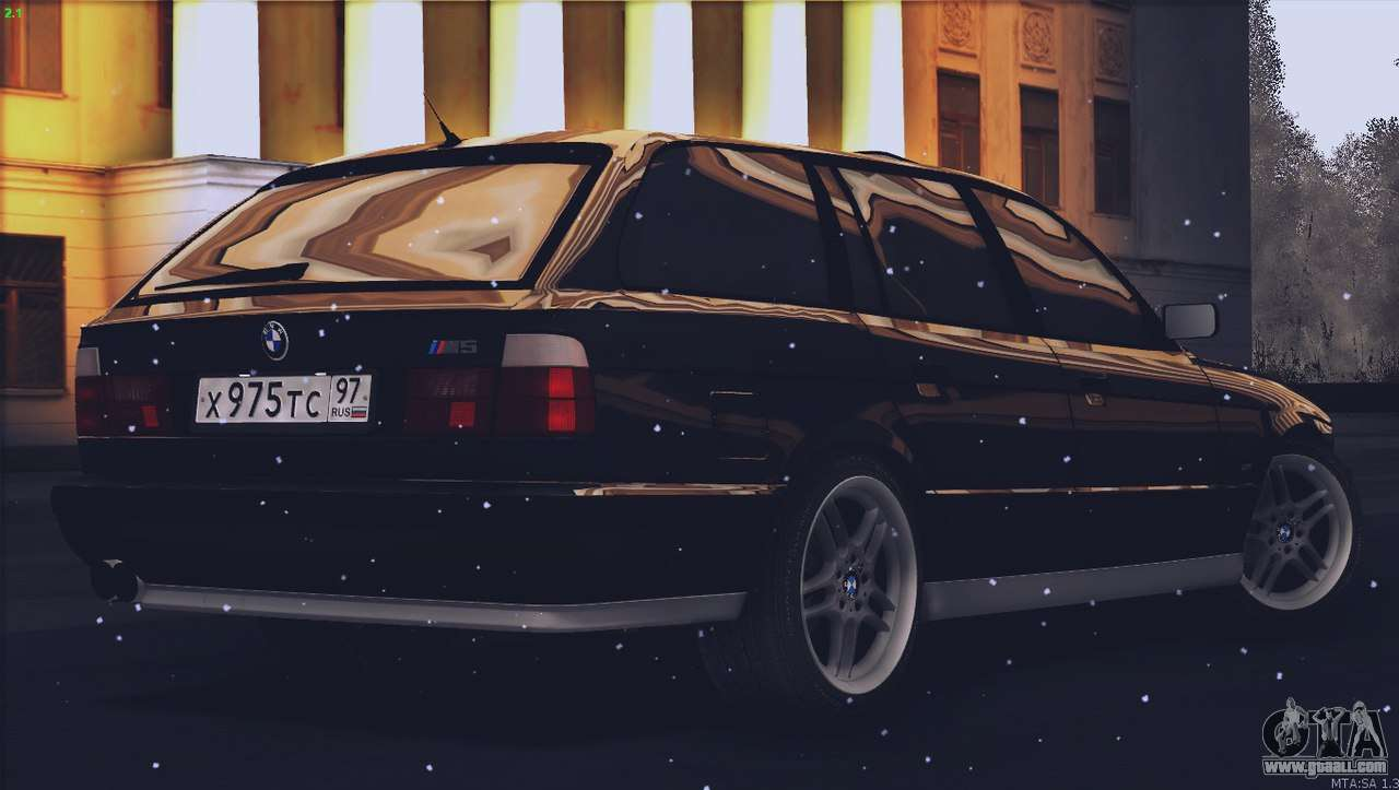 bmw m5 e34 touring 1995 for gta san andreas. Black Bedroom Furniture Sets. Home Design Ideas