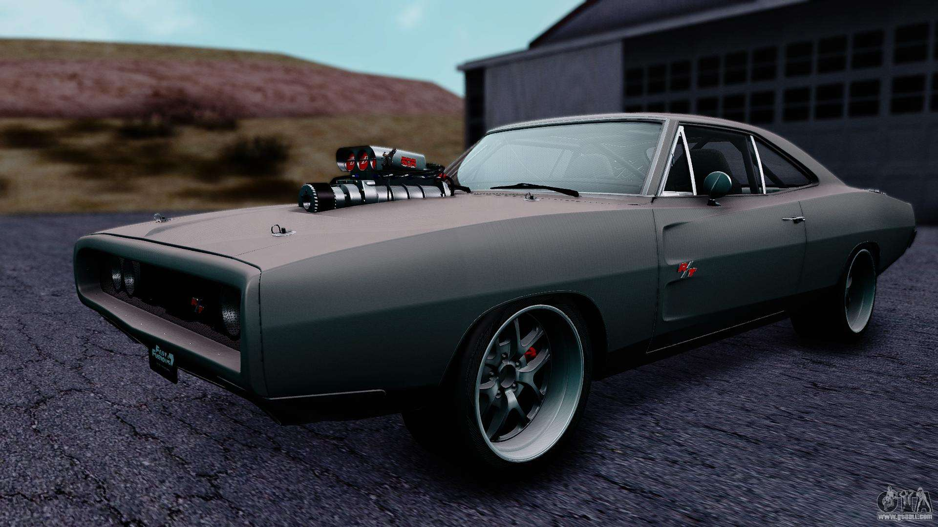 dodge charger rt 1970 fnf7 for gta san andreas. Black Bedroom Furniture Sets. Home Design Ideas