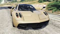 Pagani Huayra 2013 v1.1 [black rims] for GTA 5