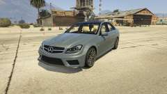 Mercedes-Benz C63 AMG v2 for GTA 5