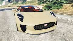Jaguar C-X75 for GTA 5