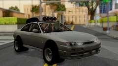 Nissan Silvia S14 Rusty Rebel