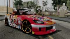 Honda S2000 Nishikino Maki Love Live Itasha for GTA San Andreas