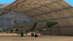 The MiG 25 for GTA San Andreas