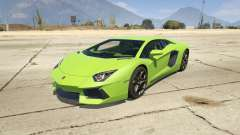 Lamborghini Aventador LP700-4 v.2.2 for GTA 5