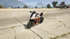 KTM 1190 RC8 R for GTA 5