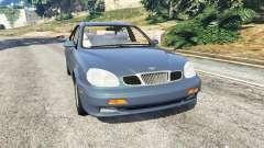 Daewoo Leganza US 2001 for GTA 5