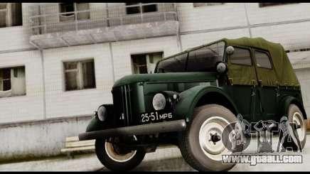 GAZ-69A for GTA San Andreas