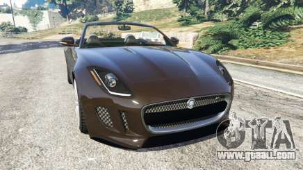 Jaguar F-Type 2014 for GTA 5