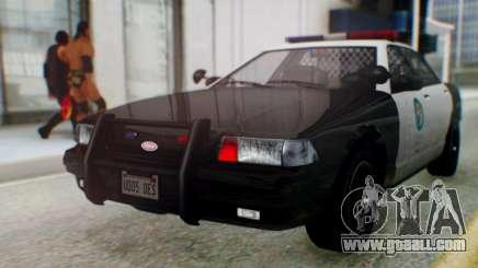 GTA 5 Vapid Stanier II Police for GTA San Andreas