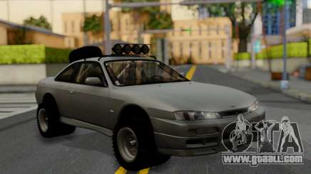 Nissan Silvia S14 Rusty Rebel for GTA San Andreas