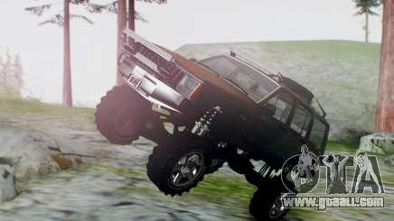 Jeep Cherokee 1984 4x4 for GTA San Andreas