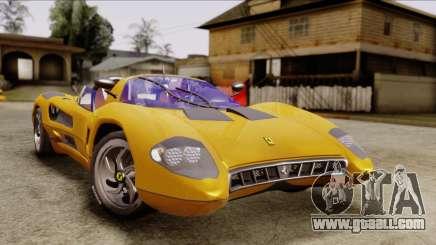Ferrari P7 Cabrio for GTA San Andreas