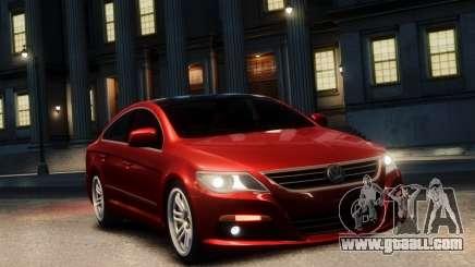 Volkswagen Passat CC for GTA 4
