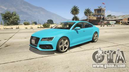 Audi RS7 for GTA 5