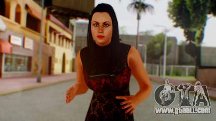 WWE Aksana for GTA San Andreas