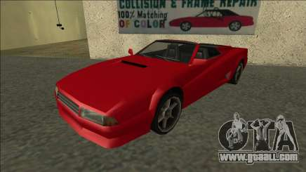 Cheetah Cabrio for GTA San Andreas