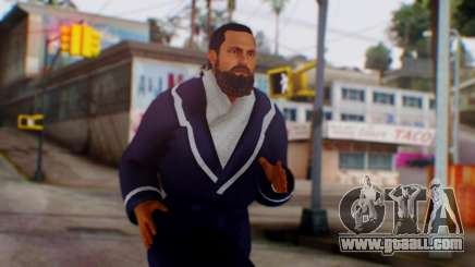 WWE Damien Sandow 1 for GTA San Andreas