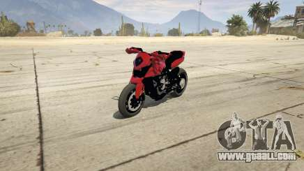 MV Agusta Rivale 800 for GTA 5