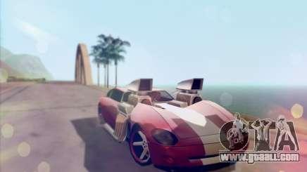 Banshee Twin Mill III Hot Wheels v1.0 for GTA San Andreas