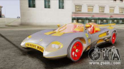 Ferrari P7 Carbon for GTA San Andreas