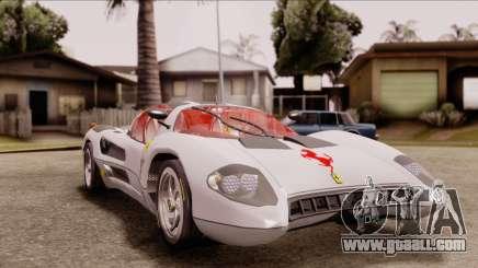 Ferrari P7 Horse for GTA San Andreas