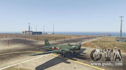 Boeing B-17 Flying Fortress for GTA 5