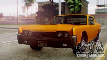 GTA 5 Vapid Chino Tunable for GTA San Andreas