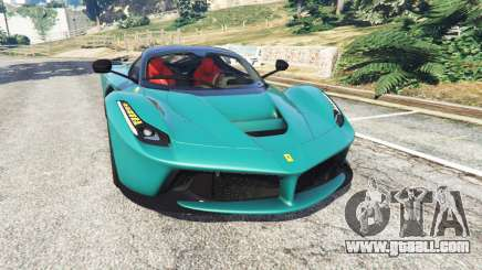 Ferrari LaFerrari 2015 v1.2 for GTA 5