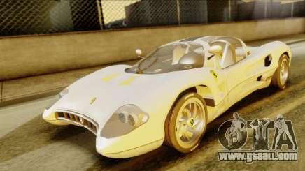 Ferrari P7 Spyder for GTA San Andreas
