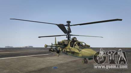 Ka-52 Alligator for GTA 5