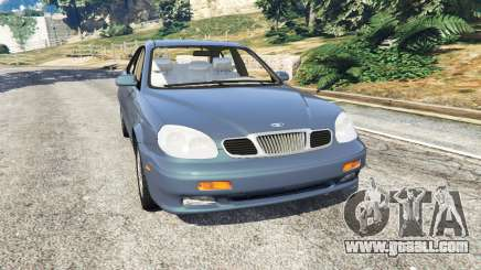 Daewoo Leganza US 2001 for GTA 5