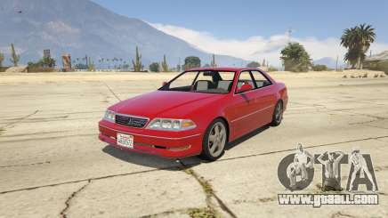 Toyota Mark II JZX100 Tunable for GTA 5