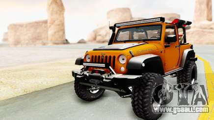 Jeep Wrangler Off Road for GTA San Andreas