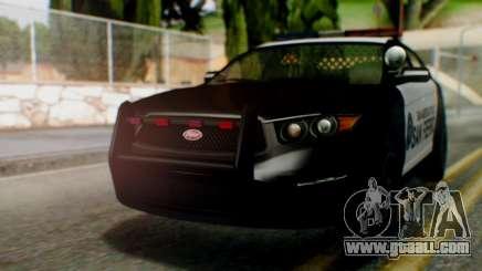 GTA 5 Police SF for GTA San Andreas