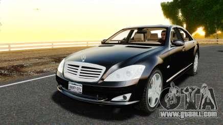 Mercedes-Benz S600L 2008 for GTA 4
