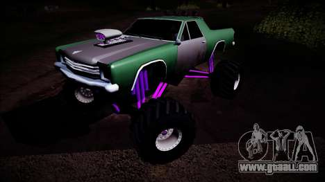 Picador Monster Truck for GTA San Andreas side view