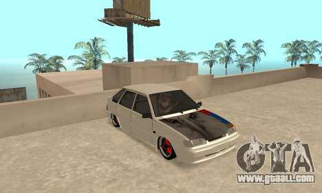 Vaz 2114 Armenian for GTA San Andreas left view