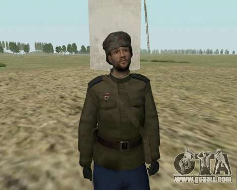 The collection Soldiers of the red army for GTA San Andreas second screenshot