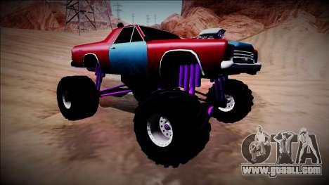 Picador Monster Truck for GTA San Andreas