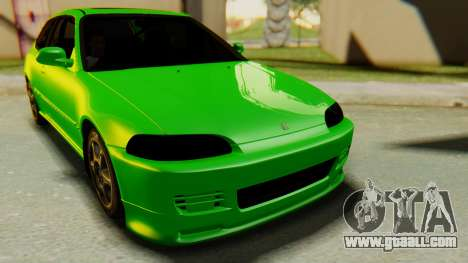 Honda Civic Vti 1994 V1.0 for GTA San Andreas right view