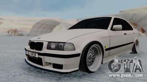 BMW 3-er E36 for GTA San Andreas